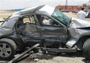 مصرع شخصين وإصابة 12 آخرين في حادث تصادم بمنشأة القناطر
