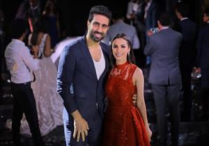 كارمن سليمان تنشر صورًا جديدة من حفل زفاف مينا عطا