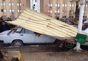 دمرت شواطئ وحطمت سيارات.. عواصف شديدة تجتاح الإسكندرية (فيديو وصور)