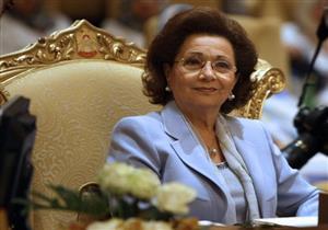 بعد غيابها.. صور جديدة لسوزان مبارك في حفل زفاف