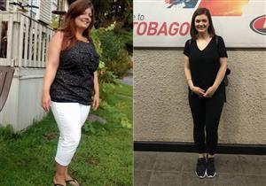 فتاة أمريكية تخسر 29 كيلو جرامًا من وزنها في 6 أشهر.. ماذا فعلت؟