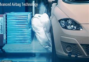 """شركة تطور """"وسائد هوائية"""" لحماية السيارة من الخارج.. فيديو وصور"""