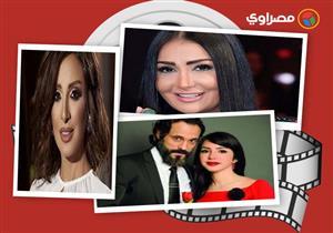 145339bc9 النشرة الفنية  شيماء سيف تدعو لوالدتها بالشفاء وزوجة الموزع أحمد إبراهيم