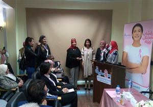"""منى زكي في """"بهية"""" لدعم محاربات سرطان الثدي- صور"""