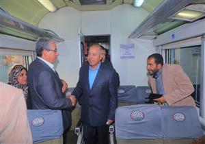 """""""اللي يمد إيده هنقطعها"""".. كامل الوزير يعلن إقالة نائب رئيس """"السكة الحديد"""""""