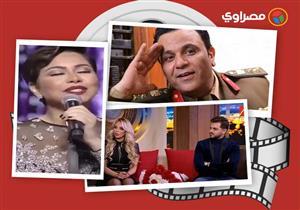 """النشرة الفنية  أول ظهور لأنغام وزوجها والحالة الصحية لمحمود عبد المغني وإليسا تسب """"أدرعي"""""""