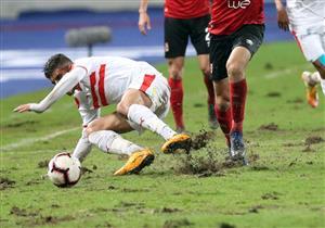 8 إصابات هددت لاعبي الأهلي والزمالك بسبب أرضية ملعب برج العرب