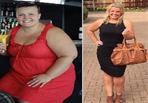 فقدت 63 كيلو من وزنها دون دايت أو جراحة.. ماذا فعلت؟ (صور)