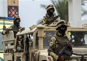 """""""استشهاد بطل"""".. المتحدث العسكري يعلن تفاصيل إحباط هجوم انتحاري بسيناء"""