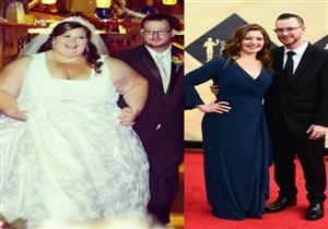 الحب يدفع زوجان لخسارة 400 كيلوجرام من وزنهما بطريقة بسيطة