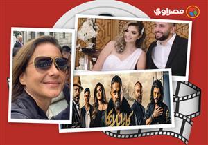 النشرة الفنية| بكاء رشوان توفيق بعزاء زوجته ووفاة فنان وابنة كوميديان راحل