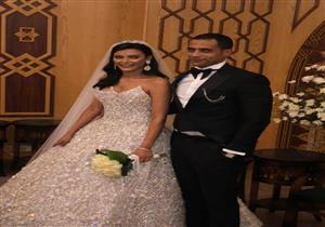 الصور الأولى من عقد قران هبة السيسي
