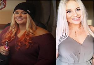 امرأة تخسر 45 كيلو بطريقة بسيطة.. ماذا تناولت؟