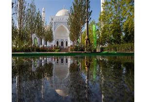 """افتتاح """"فخر المسلمين"""" أكبر جامع في أوروبا.. تعرف على تحفة الشيشان (بالصور)"""