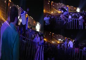 """""""هرجلة"""" في حفل محمد رمضان الأول بالساحل والأمن يفقد السيطرة على الجمهور"""