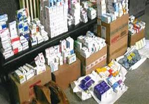 """""""الدواء المصرية"""": ضبط أدوية مهربة ومنتهية الصلاحية بعدد من المخازن والصيدليات"""