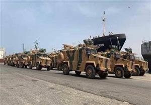 العربية: مدمرة حربية تركية تنزل جنودًا ومعدات في ميناء طرابلس