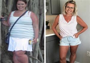 دون حرمان.. رجيم يمكِّن فتاة من فقدان 49 كيلو جرامًا من وزنها