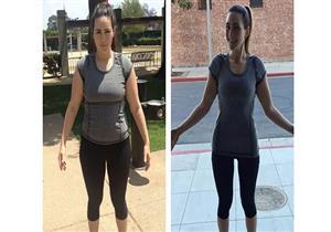 بعد فقدانها 45 كيلوجرامًا.. فتاة تقدم 7 نصائح لخسارة الوزن (صور)