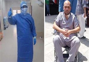 كيف فقد طبيب كفر الشيخ بصره أثناء علاج كورونا؟