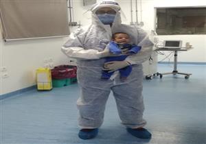 عمره 22 يومًا .. تعافى أصغر حالة من فيروس كورونا في مصر