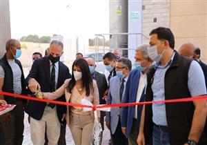 وزيرة التعاون الدولي تفتتح توسعات محطة معالجة مياه الصرف الصحي بالأقصر
