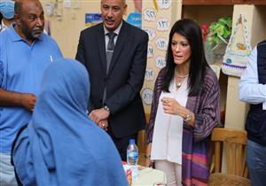 المشاط تزور مدرسة ذكية بالأقصر أنشئت بالتعاون مع برنامج الأغذية العالمي