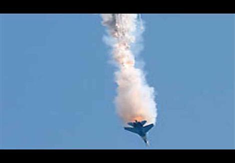 بيان للمتحدث العسكري حول ملابسات سقوط طائرة حربية بالأقصر