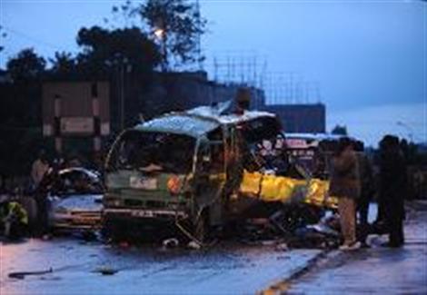 ارتفاع قتلى هجوم نيروبي إلى 21 شخصًا والقبض على شخصين