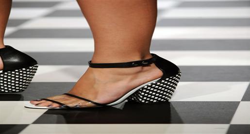 7bcd38dee6555 مختاراتنا من أجمل أحذية ربيع 2014 من أسبوع لندن للموضة
