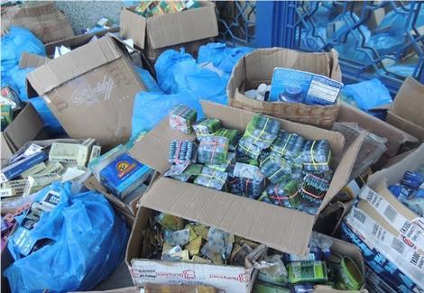 ضبط 158 عبوة أدوية ومنشطات ومكملات غذائية مهربة بالقاهرة