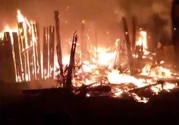 ارتفاع عدد المصابين في حريق كفر الدوار إلى 30 حالة