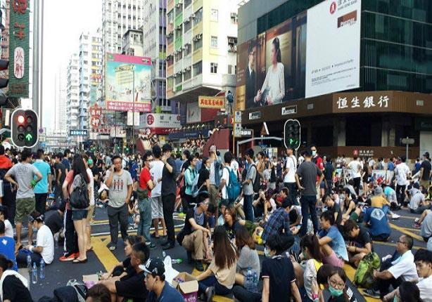 هونج كونج تدرس إرجاء الانتخابات المحلية في ظل المظاهرات المناهضة للحكومة
