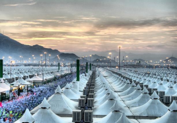 تخصيص مليونى متر مربع لمخيمات الحجاج العرب فى مشعرى منى وعرفات