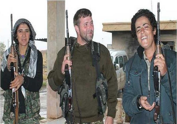 أمريكيون يحاربون مع أكراد سوريا ضد ''الدولة الاسلامية''