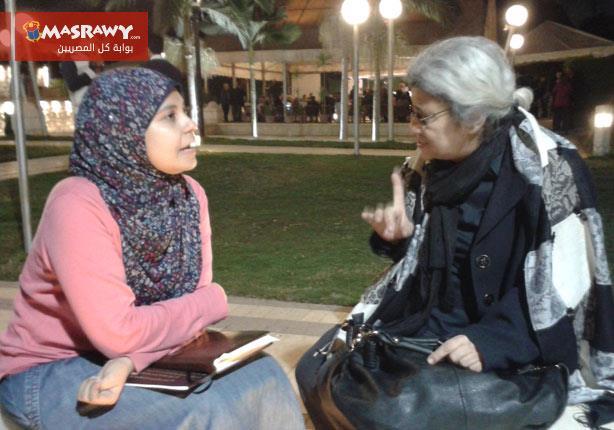 حوار- ليلى سويف: التعذيب في مصر من أيام الملك..الفرق في درجة ''الفُجر''