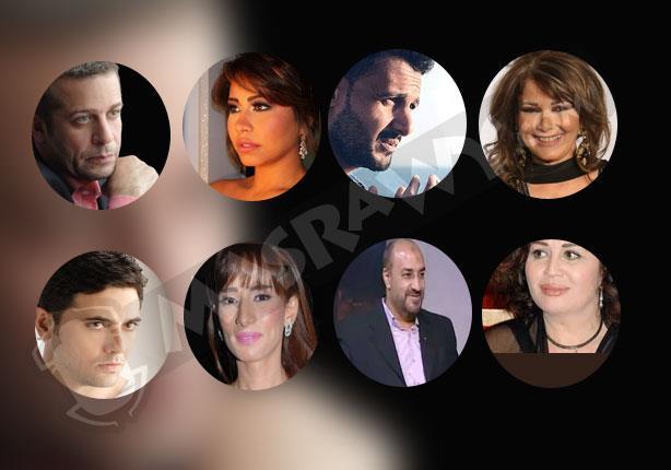 عز وزينة ومنير وشيرين نجوم المحاكم في 2014