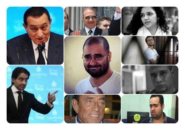"""عام قضائي مثير.. حبس """"شباب الميدان"""" وبراءة """"عواجيز النظام"""""""