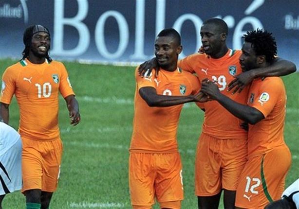 الأفيال تستعد لأمم أفريقيا بـ23 لاعبا