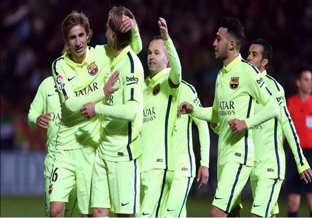 بالفيديو- برشلونة يفوز خارج أرضه برباعية نظيفة في كأس أسبانيا