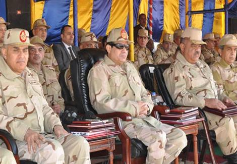 السيسي يطالب بتأهيل مليون جندي لتأدية الخدمة العسكرية