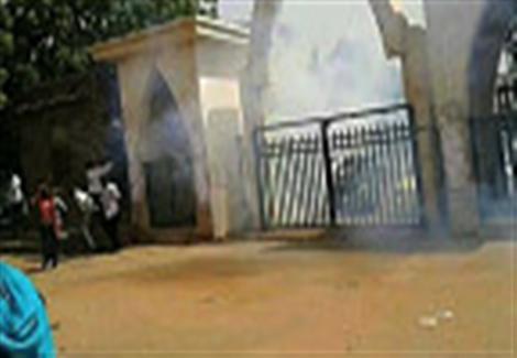 تبادل إطلاق النار قرب جامعة الخرطوم بين الجيش السوداني ومسلحين مجهولين