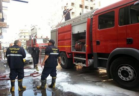 السيطرة على حريق منزلين في بسوهاج