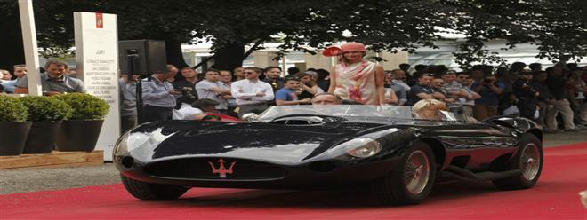 بالصور! مازيراتي تتألق في مسابقة لأناقة السيارات 2014