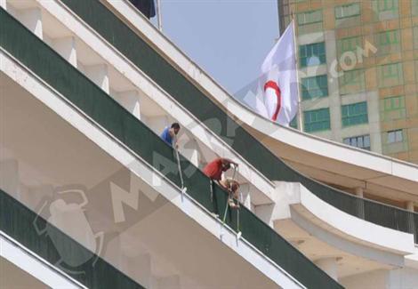 القاهرة تتجمل لتنصيب السيسي: نظافة وصيانة ورصف وإضاءة حتى ''الدستورية''