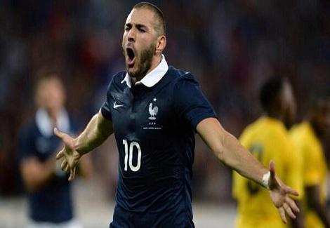بالفيديو- فرنسا تكتسح جامايكا بثمانية أهداف في آخر مبارياتها الودية قبل المونديال