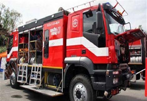 3 سيارات إطفاء للسيطرة على حريق قاعة اجتماعات في شبرا الخيمة
