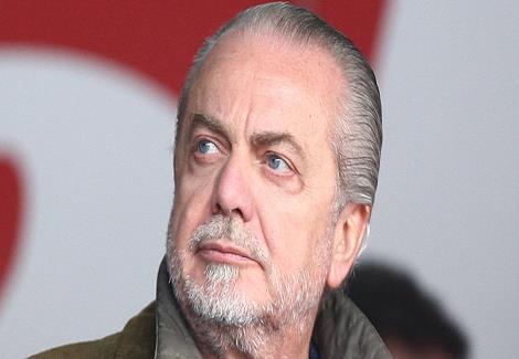 إصابة رئيس نادي نابولي بفيروس كورونا
