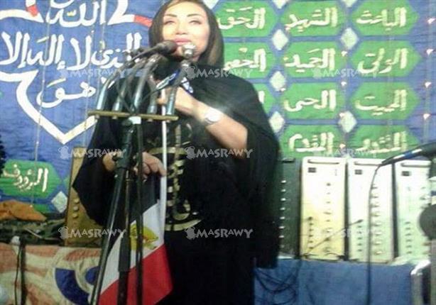 """بالصور : أول ظهور للإعلامية ريهام سعيد بعد وقفها ترتدي """" عباية """" في حفل """" نائب الجن والعفاريت 1 30/11/2015 - 2:05 م"""