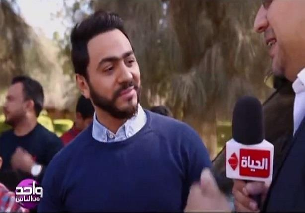 بالفيديو.. تامر حسني: أمي حرمت نفسها من الدنيا وعوضتنا أنا واخويا